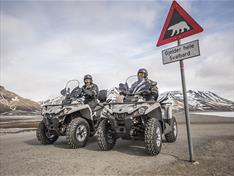 ATV safaris on Svalbard